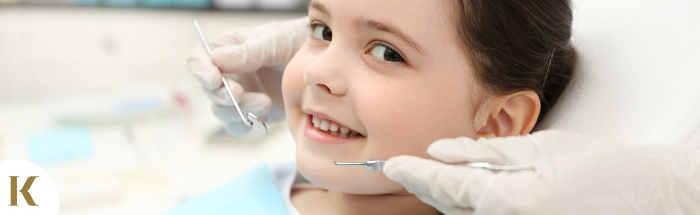 child at a family dental clinic in St Helens