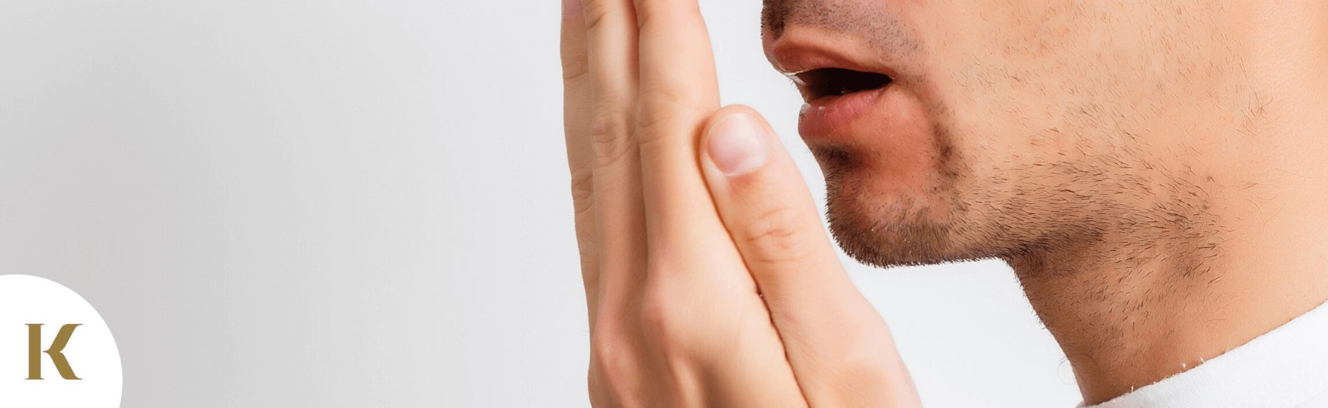 man who wants to cure bad breath