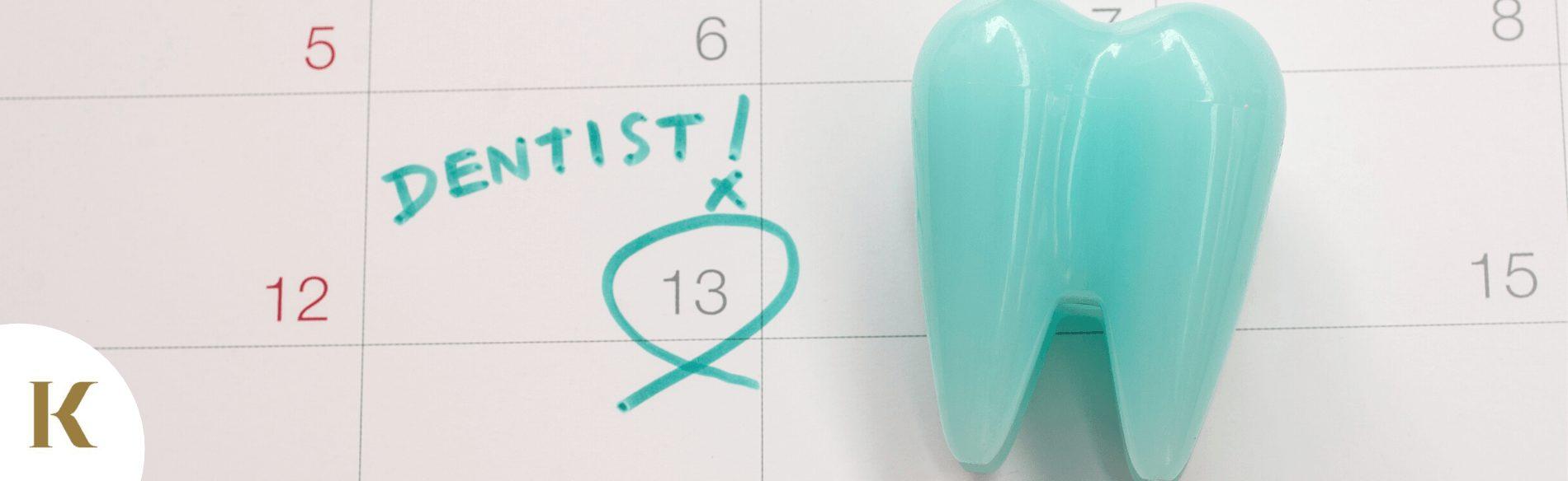 Scheduled dental treatment post-lockdown