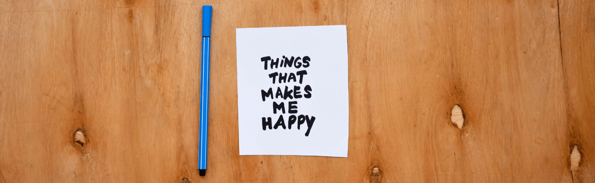 Post-it note to remind you to smile more