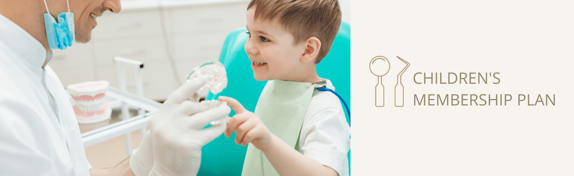 Taking care of children's oral health